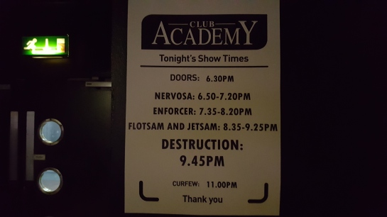 Destruction Stage Times