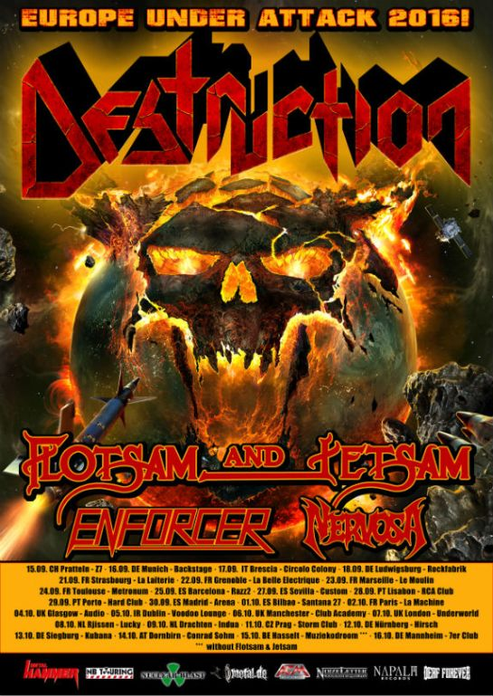 Destruction Flyer
