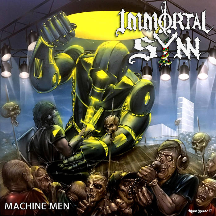 Immortal Sÿnn – Machine Men (Review)