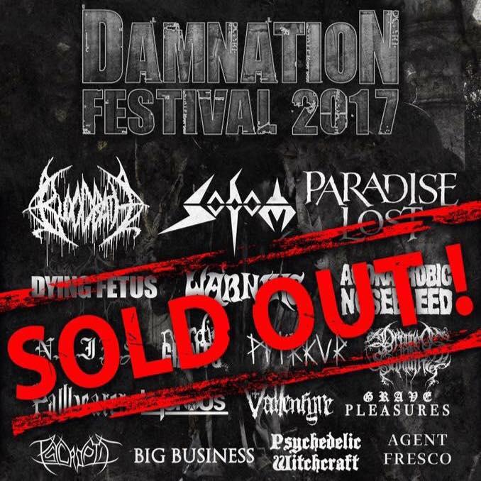 Damnation Header