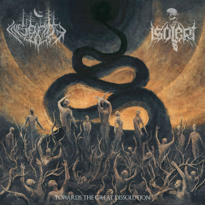 Insanity Cult/Isolert – Towards the Great Dissolution – Split (Review)