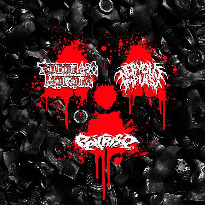 Rubufaso Mukufo/Nervous Impulse/Epicrise – Atomic Grind 3 Way – Spilt(Review)