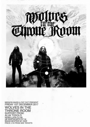 Wolves in the Throne Room Poster
