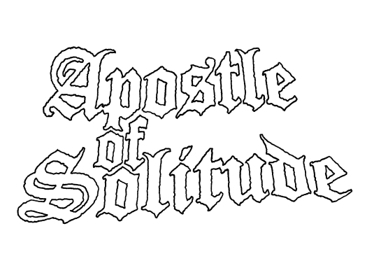 Apostle of Solitude Logo