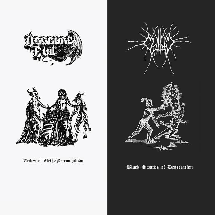 Gloam/Obscure Evil – Split(Review)