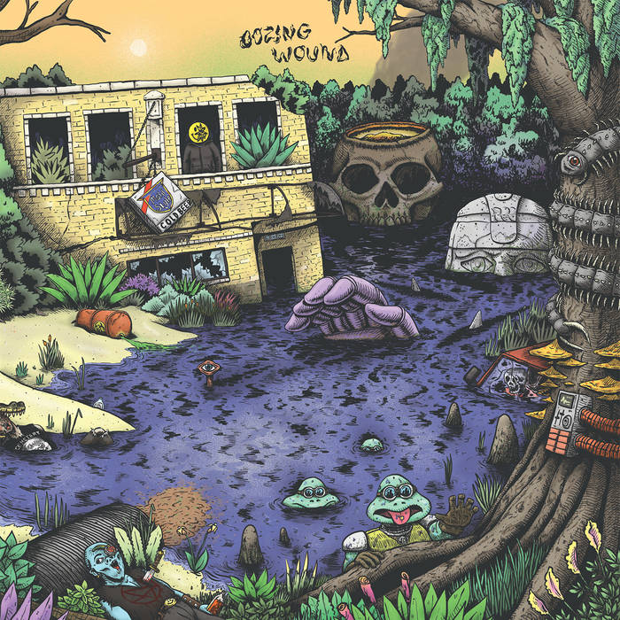 Oozing Wound – High Anxiety(Review)