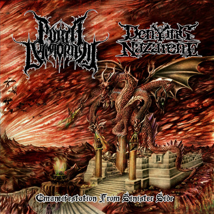 Porta Daemonium/Denying Nazarene – Emancifestation from Sinister Side – Split (Review)
