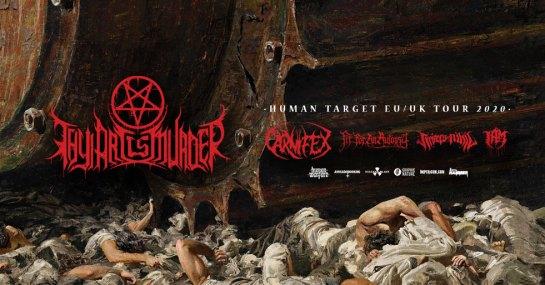 Human Target Tour 2020