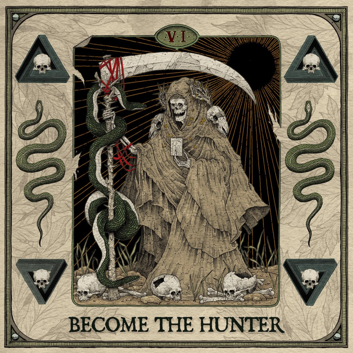 Suicide Silence – Become the Hunter(Review)