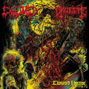 Exhumed Gruesome - Twisted Horror - Split