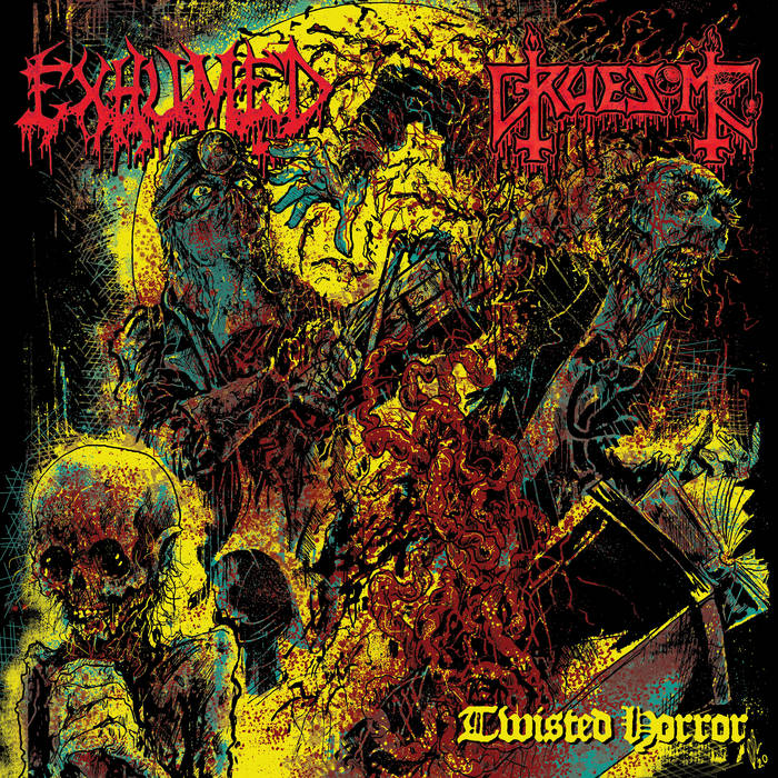 Exhumed/Gruesome – Twisted Horror – Split (Review)