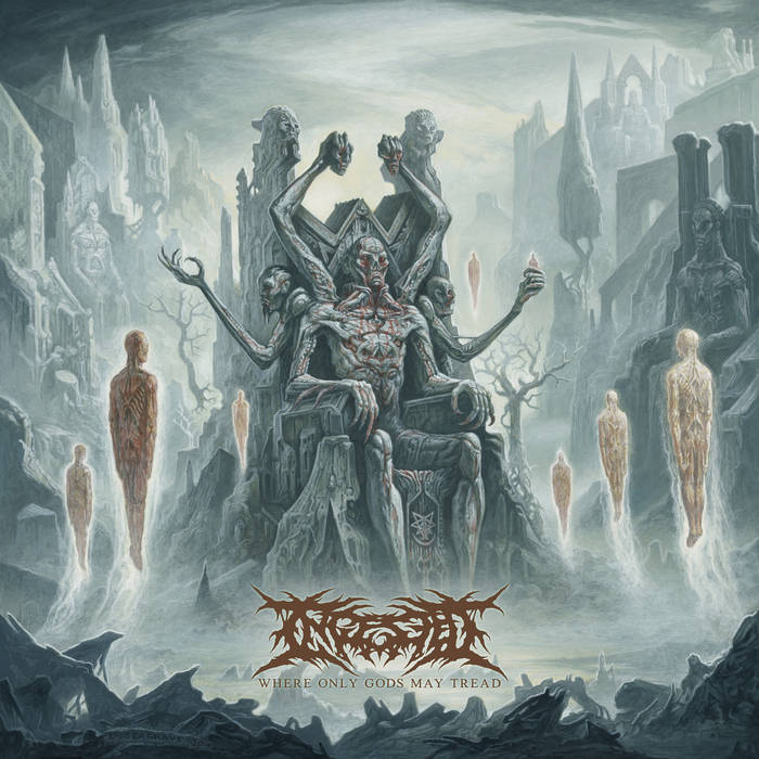 Ingested – Where Only Gods May Tread(Review)