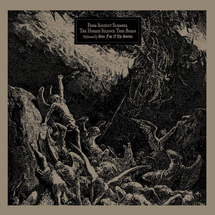 Grim Fate/The Sombre – From Ancient Slumber/The Horrid Silence Thus Began – Split(Review)