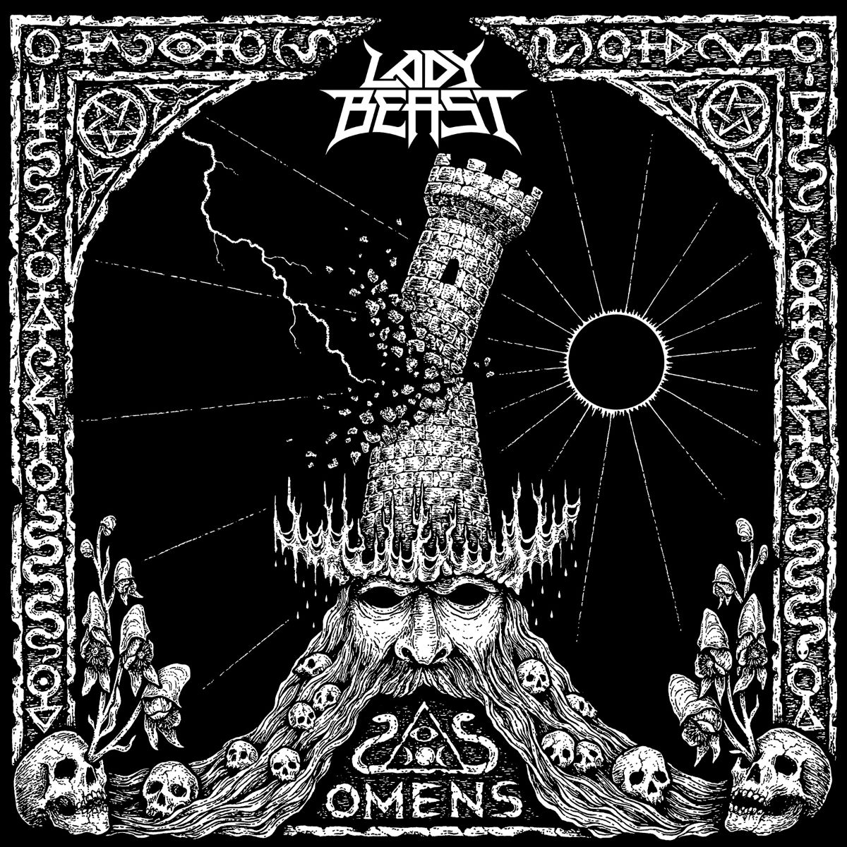 Lady Beast – Omens(Review)