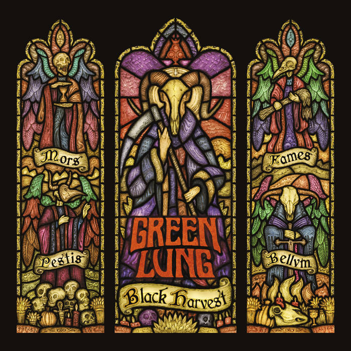 Green Lung – Black Harvest(Review)